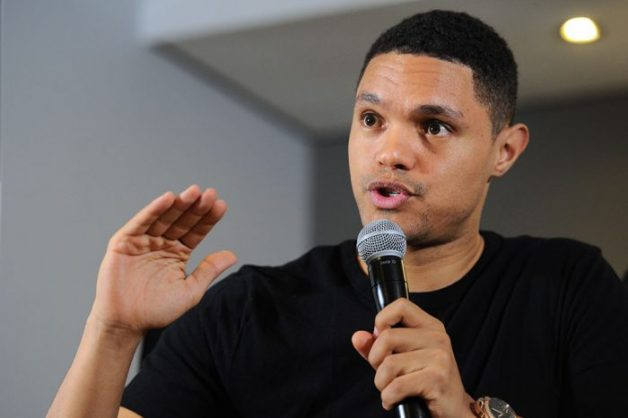 Comedian Trevor Noah speaks at a press conference hosted by M-Net at Montecasino in Fourways, 10 August 2017. Noah, who is the host of Comedy Central's The Daily Show and is based in New York, is in South Africa putting on a number of shows in Johannesburg and Durban. Picture: Michel Bega