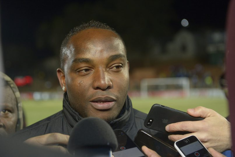 Benni McCarthy, head coach of Cape Town City during the Absa Premiership match between Bidvest Wits and Cape Town City FC at Bidvest Stadium. (Photo by Sydney Seshibedi/Gallo Images)