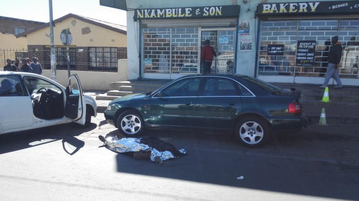 Man shot dead in robbery at funeral parlour in Soweto. Picture: ANA