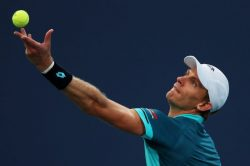 It's on at the US open as Kevin Anderson reaches last 8