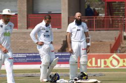 Hashim Amla looks ready to rock and roll for Proteas