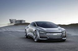 Audi unveils Aicon four-door concept car at Frankfurt