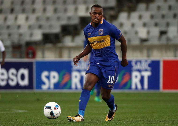 Ayanda Patosi of Cape Town City (Chris Ricco/BackpagePix)