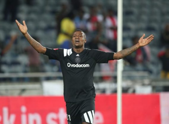 Thamsanqa Gabuza of Orlando Pirates (Gavin Barker/BackpagePix