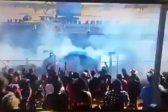 WATCH: Drama as race car fireball injures 12