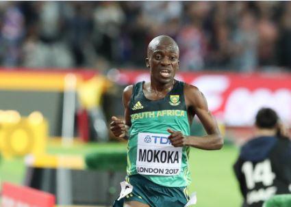 Mokoka makes history with record run