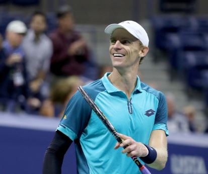 Kevin Anderson has delivered his best showing in a Grand Slam to date. Photo: Getty Images/AFP.