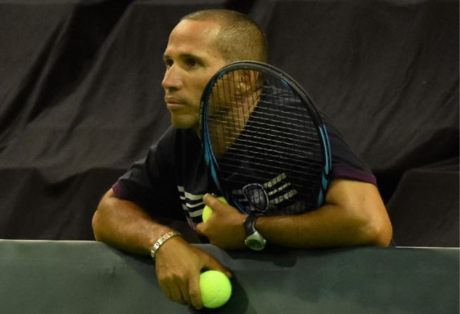 Jeff Coetzee wants to play an integral part in SA tennis' future. Photo: Bruce Davidson/BLD.