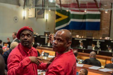EFF says don't blame Zuma for Sars mess