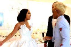 Pics of Minnie's stunning white wedding leaked on social media