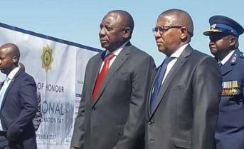 Ramaphosa leads #SAPSCommemoration