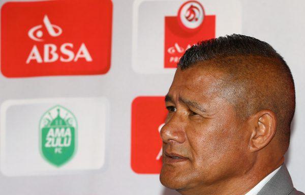 Cavin Johnson (Head Coach) of AmaZulu (Steve Haag/BackpagePix)