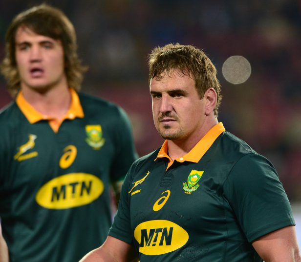 The Springboks welcome Ruan Dreyer and Franco Mostert into ther starting line-up again. Photo: Lee Warren/Gallo Images.