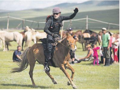 SA rider wins epic race