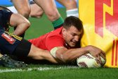 Lions captain Warburton out for four months with neck problem