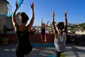 From yoga to movies: Lisbon embraces rooftop living