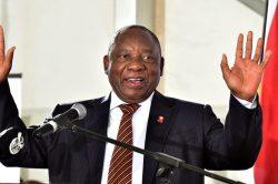 Ramaphosa off to London for SA's bid to host RWC 2023
