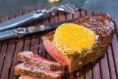 Recipe: Marinated sirloin steaks and sriracha butter