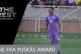 Usain Bolt backs Masuluke for Puskas Award