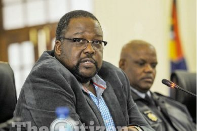Nhleko explains to Zondo how he employed a convicted fraudster