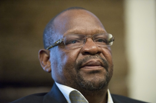 JOHANNESBURG, SOUTH AFRICA - DECEMBER 6: Dr. Mathole Motshekga during a meeting between Sanef and the ANC on December 6, 2011 in Johannesburg, South Africa regarding the Secrecy Bill. (Photo by Gallo Images / Foto24 / Nelius Rademan)