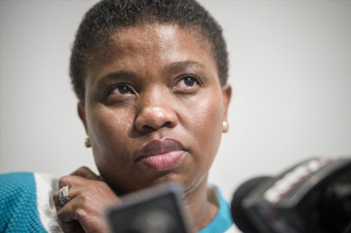 Nomgcobo Jiba during a media briefing on August 18, 2015 in Johannesburg. Picture: Gallo Images
