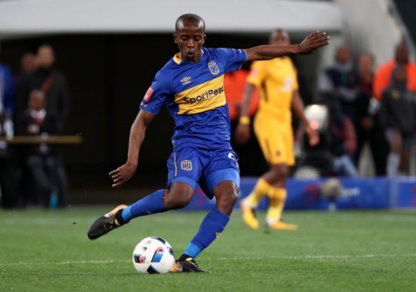 Thabo Nodada of Cape Town City (Chris Ricco/BackpagePix)