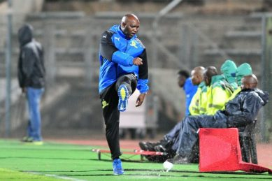 Pitso feels let down by some Sundowns players in Cup loss