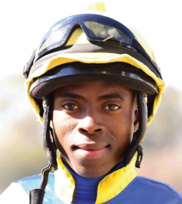 BIG CHANCE. Siyabonga Mthembu is expected to win Race 8 at the Vaal today, when he rides Mooney in the the first leg of the Work Riders' Challenge.