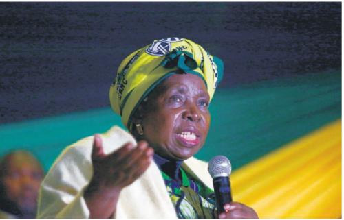 Nkosazana Dlamini-Zuma. Picture:Gallo Images