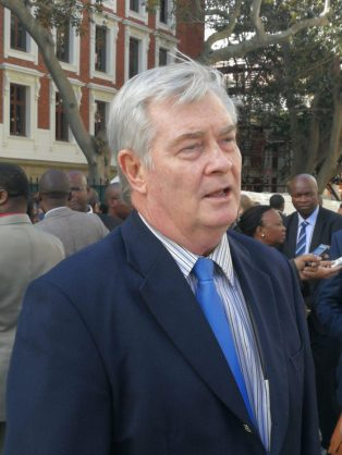 Freedom Front Plus leader Pieter Groenewald said he was disappointed Finance Minister Malusi Gigaba's maiden medium-term budget policy statement. Photo: Chantall Presence / ANA