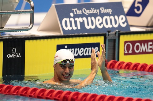 Chad le Clos. Photo: Oliver Hardt/Getty Images For FINA.