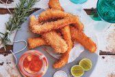 Recipe: Hake goujons with sriracha mayonnaise