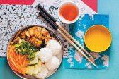 Recipe: Malaysian chicken rice plate