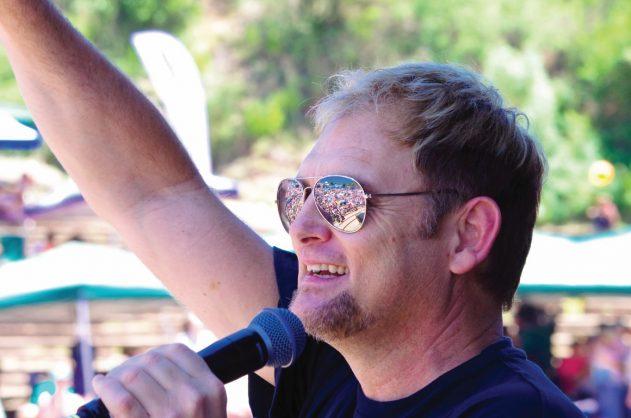 Afrikaans singer Steve Hofmeyr