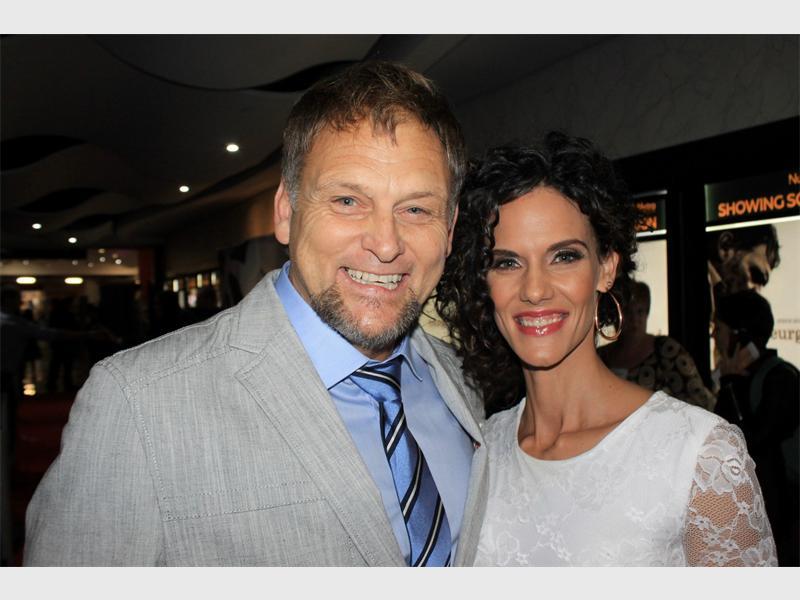 Steve en Janine Hofmeyr. Photo: Ron Sibiya.