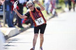 92-year-old Johannesburg lady finishes 20km race walk!