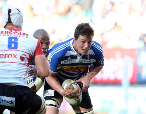 WP lock JD Schickerling plays fearlessly because he was given a second chance. Photo: Carl Fourie/ Gallo Images.