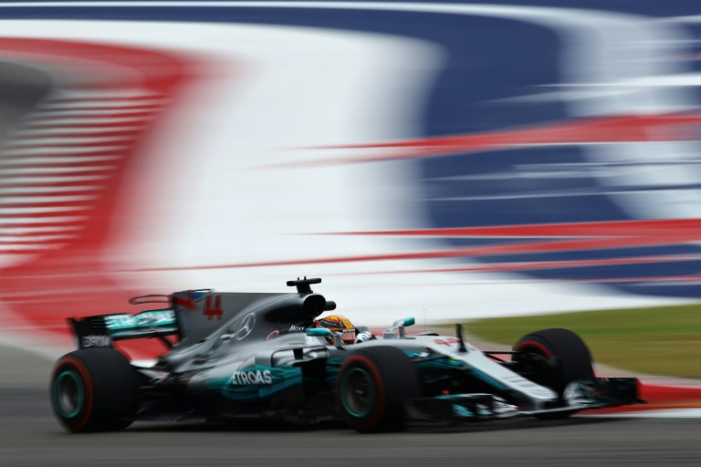 Lewis Hamilton Of Great Britain Drives During Practice For The United  States Formula One Grand Prix
