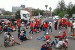 EFF demands water, houses in Rustenburg