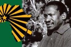 Sobukwe, founder of the Pan Africanist Congress.