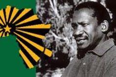 Sobukwe, founder of the Pan Africanist Congress.