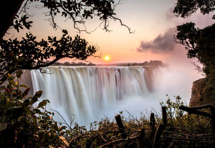 Victoria Falls sunrise. Picture: iStock