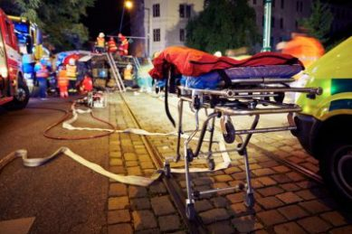 Gauteng pedestrian survives after being hit by two cars