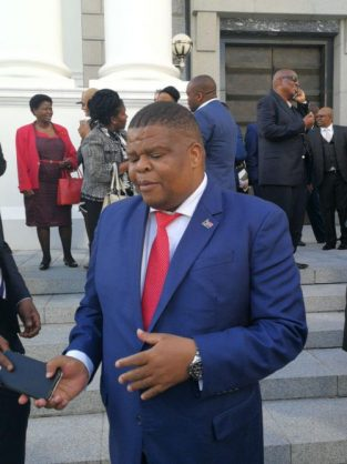 Energy Minister David Mahlobo on Wednesday said South Africa was still considering expanding its nuclear energy programme, despite the country not being able to afford it. Photo: Chantall Presence / ANA