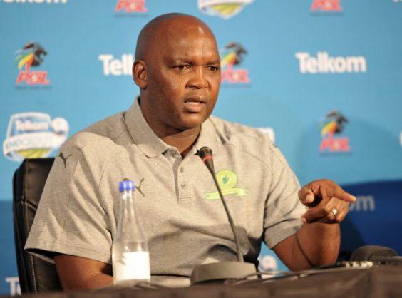 Head coach of Mamelodi Sundowns, Pitso Mosimane (Aubrey Kgakatsi /BackpagePix)