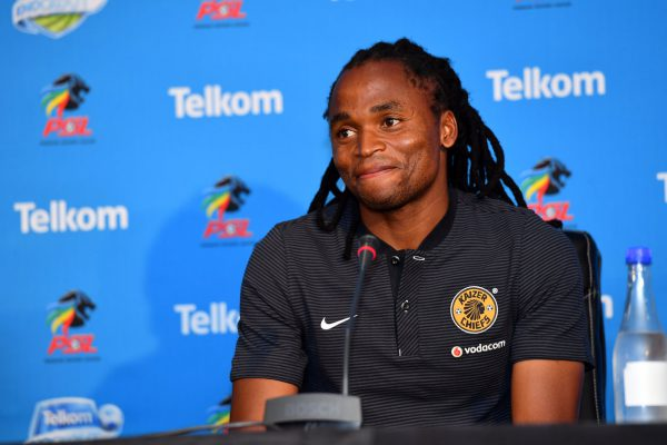 Siphiwe Tshabalala during the Kaizer Chiefs press conference at PSL Offices.. (Photo by Johan Rynners/Gallo Images)