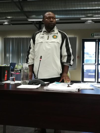 Thabiso Zulu testified before the Moerane Commission on Wednesday. PHOTO: ANA Reporter