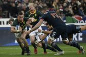 Desperate Springboks cling on for an ugly win in Paris