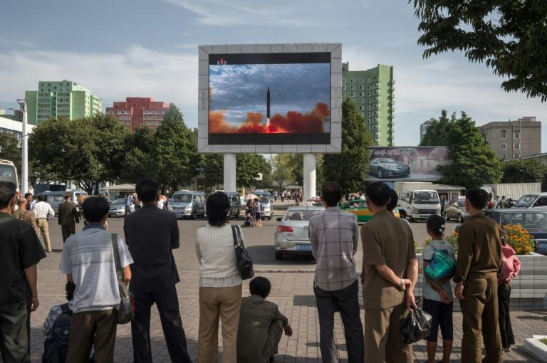 North Korea ends calm, fires ballistic missile